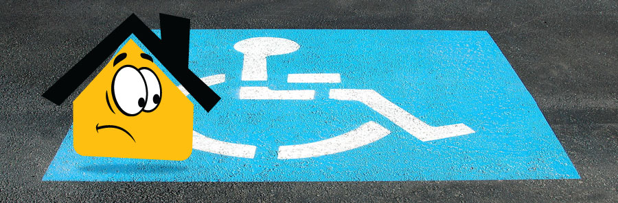 Condo HOA Handicapped Parking